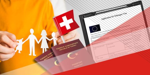 İsviçre Aile Ziyareti Vizesi